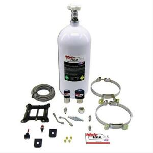 NITROUSNX ML1000 Nitrous Oxide System MainLine Wet 100-250 hp 10 lb. Bottle Whit