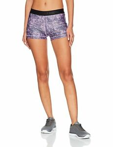 Under Armour Women's Ua Hg Printed Shorty Short. SIZE XL. RRP 27.99. BARGAIN.