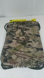 UNDER ARMOUR Unisex CAMO Hunting Durable Easy Cinch SackPack Back Pack NEW