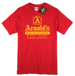 Arnold's Drive In Inspired By TV Show Happy Days - Fonz Retro Television NEW