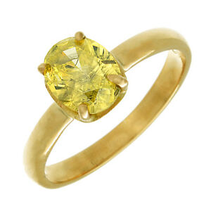 Authentic Design 2.50 Carat Oval cut Design Fancy Yellow GIA certified 18K WG