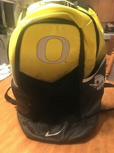 Oregon Ducks Team Issued Player Exclusive Nike Backpack With Player Tag