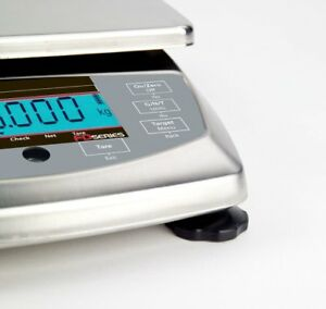 OHAUS FD15H 15kg 1g FOOD PORTIONING COMPACT BENCH SCALE 2YR WARRANTY