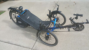 Catrike Expedition: Loaded recumbent fast touring luxury trike