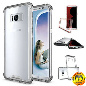 For Samsung Galaxy Note 8S8+Plus Clear Shockproof Bumper Slim Hard Case Cover