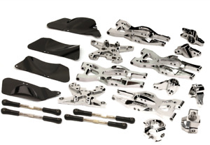 integy Aluminum Suspension Kit HPI 110 Bullet MT & Bullet ST Silver