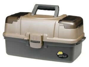 Large 3 Tray Tackle Box Fishing Bait Full Bait Storage Case Lures -Top Quality