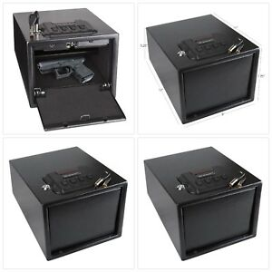 Gun Safe Electronic Lock Vault Pistol Ammo Jewelry Storage Security Box Hide Out