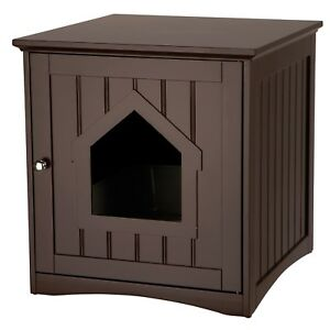 Cat House and Litter Top Quality Genuine Trixie Wooden Box Enclosure