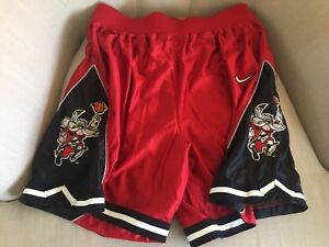 UNLV Running Rebels Nike Basketball Game Shorts Size Large Retro