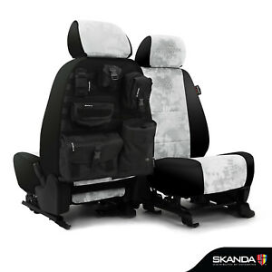 Skanda Kryptek Yeti Camo Neosupreme Tactical Seat Covers for Ram Truck