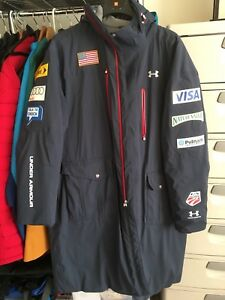 USA Ski Team Coaches Parka Under Armour  Men's Large