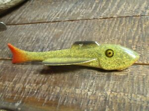 OLD VINTAGE RARE FISHING LURE SPEARING DECOY GEORGE RANDALL FOR YOUR TACKLE BOX