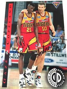 NBL - Melbourne Tigers - Gaze- Copeland Dynamic Duo Signed Poster