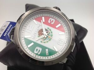 2022 Katar FIFA world soccer Cup Mexico 48mm Seiko Japan Movt WATCH WR30M $24.94