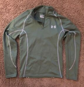 under armor cold gear Fitted Long sleeve Green Men S $16.89