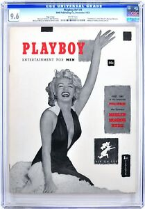 PLAYBOY December 1953  CGC 9.6 Near Mint+ WHITE Pages  PAGE 3 Edition