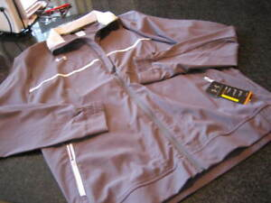 NWT - Mens UNDER ARMOUR Gray Front Zip Jacket (XL - TALL)