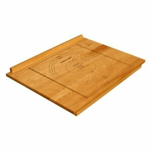 Pemberly Row Over Counter Pastry Cutting Board in Birch