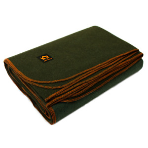 Arcturus Military Wool Blanket 4.5 lbs Warm Thick Washable Large 64quot; x 88quot;