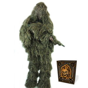 Ghost Ghillie Suit by Arcturus Camo - Includes Matching Rifle Wrap