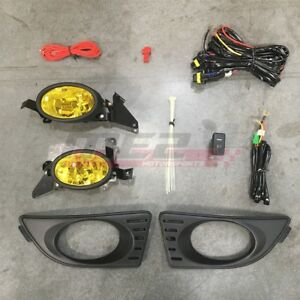 For Acura RSX 05 07 Factory Replacement Fit Fog Lights Wiring Kit Yellow Lens $42.49