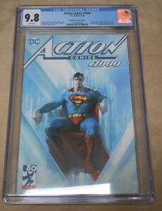 ACTION 1000 - Dell Otto - Bullet Proof Comics Variant CGC 9.8!!