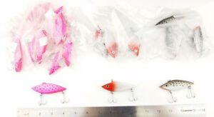 Lipless Crankbait Bass Fishing Lures 12oz BULK Lot of 22 pieces