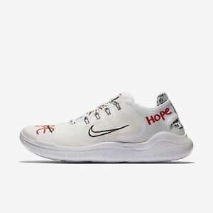 Men's Nike x Novo Free RN T-Shirt for Your Feet Running Shoes Size 12 AH3966 106