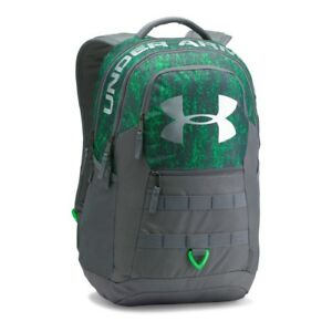 Under Armour Big Logo 5.0 Backpack Lime TwistGraphite One Size Brand New Mens