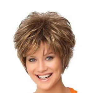 Synthetic Short Cut Curly Hairstyles Natural Hair Wigs For Women