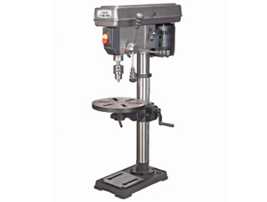 13 in 12 Speed Bench Drill Press Home Garage Wood Shop Plastic Metal Portable
