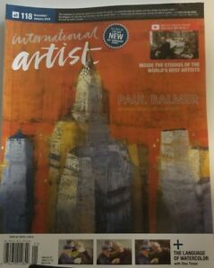 International Artist Jan 2018 Paul Balmer Developmet Individual FREE SHIPPING