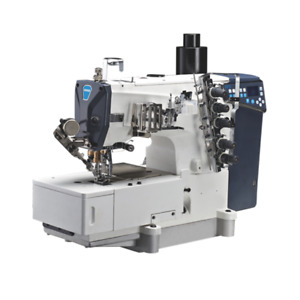 Flat-bed Direct Drive Interlock Machine with Auto Thread Trimmer(Out-moved Cam)
