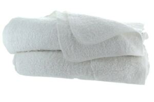 Wash Cloth 10 Pieces Pack 12x12 inches 100% Cotton White Soft and thick $7.55