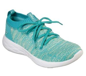 Skechers Women's Performance Running Shoes Go Run 600 Utilize 15070 Turquoise
