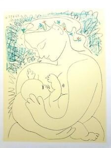 MATERNITY ORIGINAL LITHOGRAPH BY PICASSO