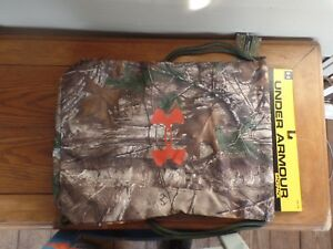 Under Armour Realtree Xtra Green Camo Sackpack. wClip. NWT's