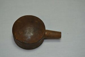 Antique Military Powder Measure Canteen