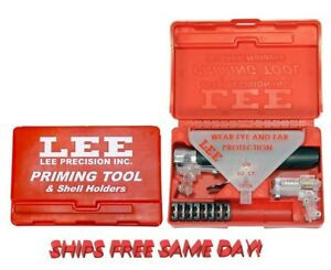 90215 Lee Priming Tool Kit INCLUDES 8 Shellholders FREE SHIPPING  New!