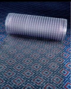 Clear Plastic Runner Rug and Carpet Protector Mat Multi Grip.