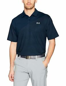 Under Armour Men's Coolong Sleevewitch Blocked Polo - Choose SZColor