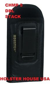 Magazine Pouch Full Double Stack 9mm40 Mag Fits Glock 171923 Inside Waistband
