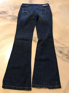 Pop Starlet Jeans Size 4 L Flare Refuge Cool Pocket Design