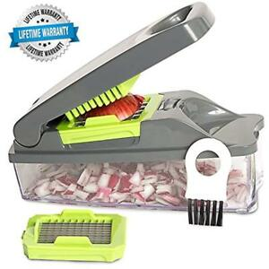 New Mincers Onion Chopper Pro Vegetable By Mueller - Strongest NO MORE TEARS 30%