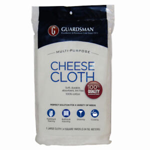 Guardsman Products: 004012: Cheese Cloth100% Cotton 4 Yards $6.99