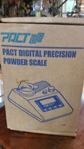 Pac digitalpowder scale and Pac digital dispenser new in box great for handload