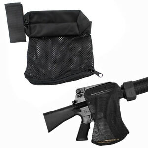 Tactical Mesh Casing Collecter Brass Shell Catcher Bag Trap For 2235.56 Black