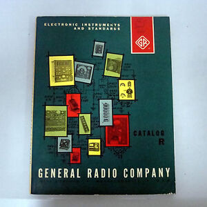 GR  GEN RAD  GENERAL RADIO COMPANY CATALOG R (MAY 1963)