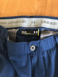 Under Armour Men's Match Play Vented Pants 34 X 30  Navy